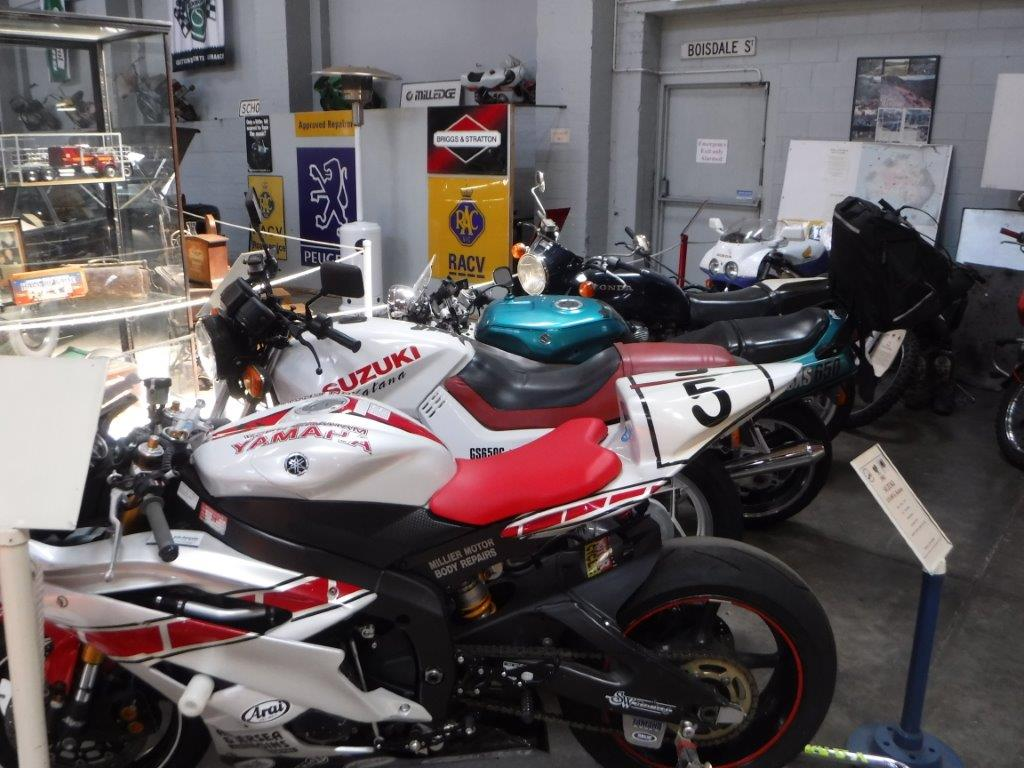 Japanese bikes in the Museum