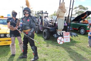 Mad Max's Humungous will be at the GVC tomorrow.