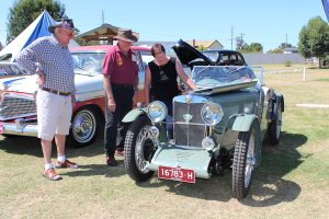 This 1932 MG J3 returned to its old stomping grounds in France on a recent journey with owners George and Marguerite Morgan.
