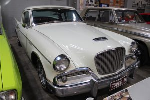 Studebaker Hawk on show at the GVC