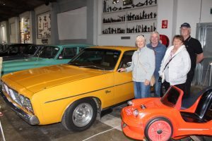 Visitors to Maffra were very taken with the 1976 Chrysler Charger CL-770 currently on show at the Gippsland Vehicle Collection