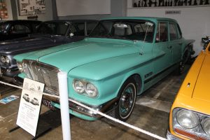 A 1962 S Series Chrysler Valiant currently on display at the Gippsland Vehicle Collection in Maffra