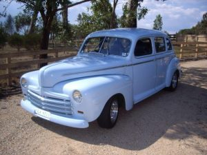 Moody Blue on show at Gippsland Vehicle Collection's Rod and Custom Cars and Bikes exhibition
